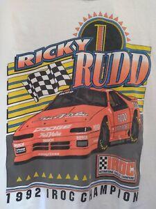Vintage 1993 Ricky Rudd IROC Champ Shirt XL Dodge True Value Nascar Winston Cup