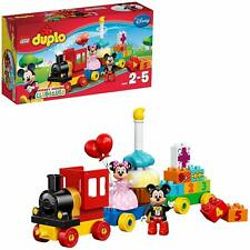 LEGO 10597 Duplo Mickey & Minnie Mouse Birthday Train Parade Building Toy Set