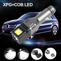XPG+COB LED Car Cigarette Lighter Lamp Safety Hammer Emergency flashlight Torch