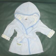 0-9 month boys blue with turtle Carter's robe for after bath or after swim