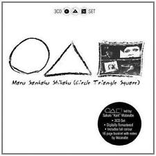 MARU SANKAKU SHIKAKU - CIRCLE TRIANGLE SQUARE 3CD Set (NEW & SEALED) Japanese