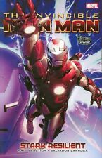 Invincible Iron Man Vol 6: Stark Resilient 2 by Fraction & Larroca 2011 HC OOP