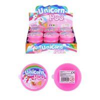 Unicorn Poo Pink Glitter Slime Putty Tub Squishy Stress Relief Toy Children's