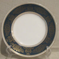 Wedgwood Columbia Blue & Gold R4509 Dinner Plate