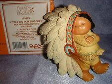 Friends of the Feather - 115673 -MIB- LITTLE BIG FOR BRITCHERS - Boy w Headdress