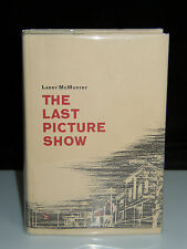 THE LAST PICTURE SHOW LARRY McMURTRY SIGNED FIRST EDITION 1ST PRINT
