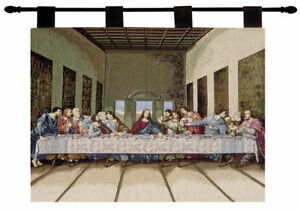 The Last Supper Christian Jesus Tapestry Wall Hanging