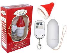 Oeuf vibrant radiocommande Christmas blanc Spoody - 10 vitesses