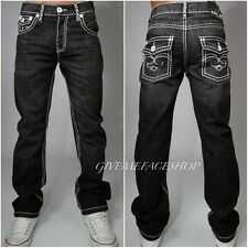 TRUE PEVIANI JEANS, BOYS, MENS G BAR DENIM STAR TIME IS STRAIGHT MONEY HIP HOP