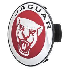 Genuine Jaguar XJ XJR rueda insignia roja cromo XK XKR X & S Tipo XF Tipo F