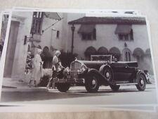 1932 PIERCE ARROW LEBARON CONVERTIBLE    11 X 17  PHOTO   PICTURE