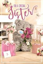For a Special SISTER  - Medium 3D -  Tatty Teddy Me to You - Birthday Card