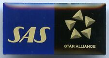 Scandinavian Airlines System SAS Star Alliance Pin Badge !!!