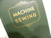 Rare 1950 VTG SINGER Machine Sewing Textbook  BOOK 15 99 221 222 201 301 401 403