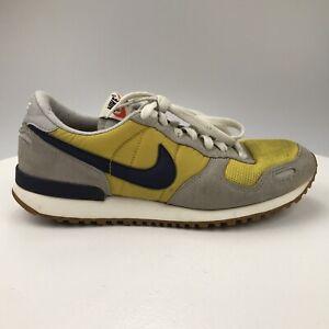Men 8 Nike Air Vortex 2012 Vintage Yellow Gray Black Athletic Running 429773-710