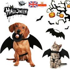 Pet Bat Halloween Costume Vampire Dress Outfit Wing For Dog Cat Animal Fancy UK