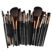 22pcs Beauty Makeup Brushes Set Cosmetic Foundation Powder Blush Brush Kit #JT1