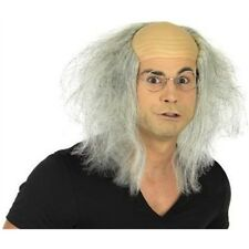 Adult's Mad Professor Wig - Fancy Dress Accessory Balding Adult Halloween