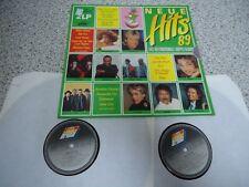 LP 2 LP's Neue Hits 89 - Die Internationalen Super-Hits BLUE SYSTEM SANDRA U2