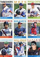 Trevor May signed 2013 Topps Heritage Minors Rookie card auto