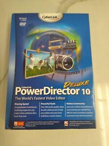 CyberLink PowerDirector 10 deluxe Open Box
