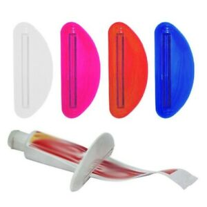 Easy Toothpaste Tube Squeezer Plastic Dispenser  Rolling Bathroom Accessories