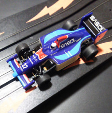 TOMY AURORA AFX Magna Slot Car #32 REPLAY SASOL Blue and Red Very Good