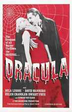 Dracula 1931 Poster 03 A2 Box Canvas Print