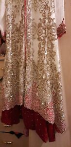Asian pakistani wedding dress used