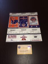 2013 MLB ALL STAR GAME FULL TICKET STRIP MARIANO RIVERA signed w/AS MVP STEINER