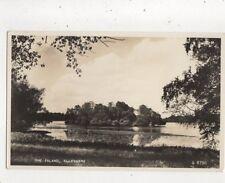 The Island Ellesmere Shropshire 1959 RP Postcard 900a