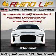 Audi RS A4 S4 B7 TTS TT Euro RhinoLip Flex Chin Lip Splitter Spoiler Add-on