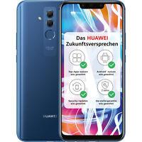 "Huawei Mate 20 lite 64GB Saphirblau NEU Dual SIM 6,3"" Smartphone Handy OVP 24 MP"