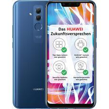 """HUAWEI MATE 20 Lite 64gb Zaffiro Blu Nuovo Dual SIM 6,3"""" Smartphone Cellulare OVP 24 MP"""