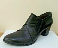 Caprice Cuir Noir Bottes Chaussures, UK 6/ Ue 39, Bnwb