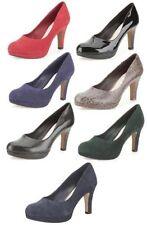 Clarks Suede Women's Heels