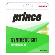 Prince Synthetic Gut 16 Duraflex Tennis String (Yellow) Authorized Dealer