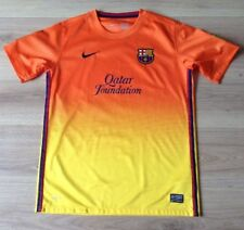 BARCELONA FOOTBALL SHIRT NIKE AWAY KIT 2012-2013 LFP SIZE CHILDS XL 13-15 YRS