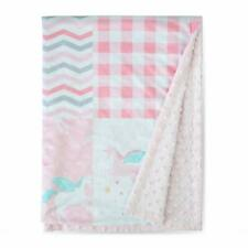 Baby Blanket Super Soft Minky with Double Layer Dotted Backing 30�X40� Pink