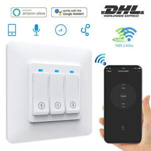 WLAN Smart Rolladen Zeitschaltuhr WiFi Rolladenschalter Vorhang Jalousieschalter