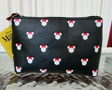 Disney Loungefly Minnie Mouse Cosmetic Makeup Bag Case Nwt