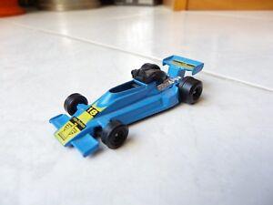 Fire Demon 18 Blue F1 Miniature Toy Old Formula 1