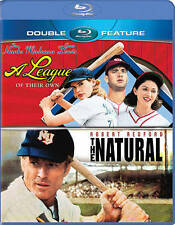 The Natural / A League of Their Own (Blu-ray Disc) New Redford Hanks REDUCED!