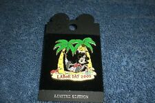 Disney Dca Disneyland 2003 Labor Day Mickey Mouse In Hammock Le Pin