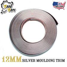 15FT Chrome Silver Molding Trim Strip  For Car Accessory Exterior Decorate