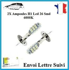2x Ampoule H1 26 Led 1210 SMD Blanc 6000K Xenon Lampe Phare Feux Tuning Bmw