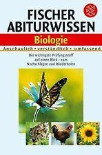 Fischer Abiturwissen Biologie   Buch   Zustand gut