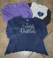 UC! Lot of 3 girls long sleeve shirts OLD NAVY, SO & EPIC THREADS 7/8 M