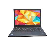 Lenovo THINKPAD T480 Core i5-7300U 7.Gen 2,6GHz 8Gb 256GB SSD 14`` HD Webcam W10