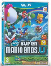 Nintendo/wii u juego fisico Super Mario Bros.u ¡oportunidad